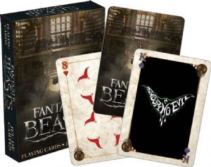 Fantastic Beasts set of 52 playing cards (+ jokers)    (nm 52330)